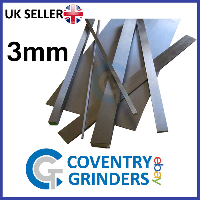 Ground Flat Stock Gauge Plate 3mm Thickness 01 Tool