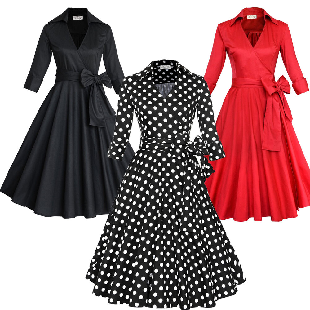 Vintage retro 50s 60s rockabilly housewife evening party for Classic 50s housewife