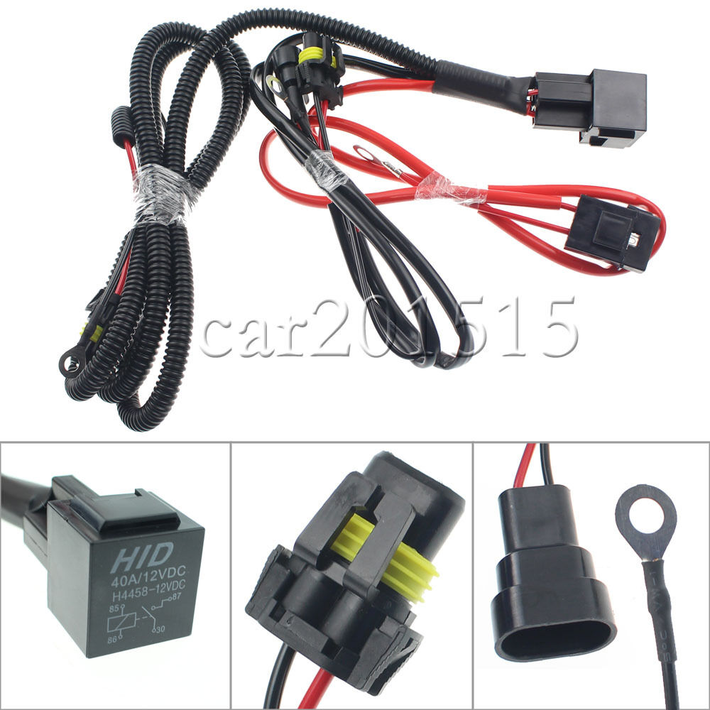 9005 9006 relay wiring harness hid conversion kit for fog. Black Bedroom Furniture Sets. Home Design Ideas