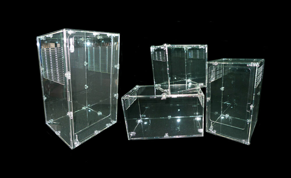 reptile cage tarantula insect lizard snake amphibian frog turtle breeding box ebay. Black Bedroom Furniture Sets. Home Design Ideas