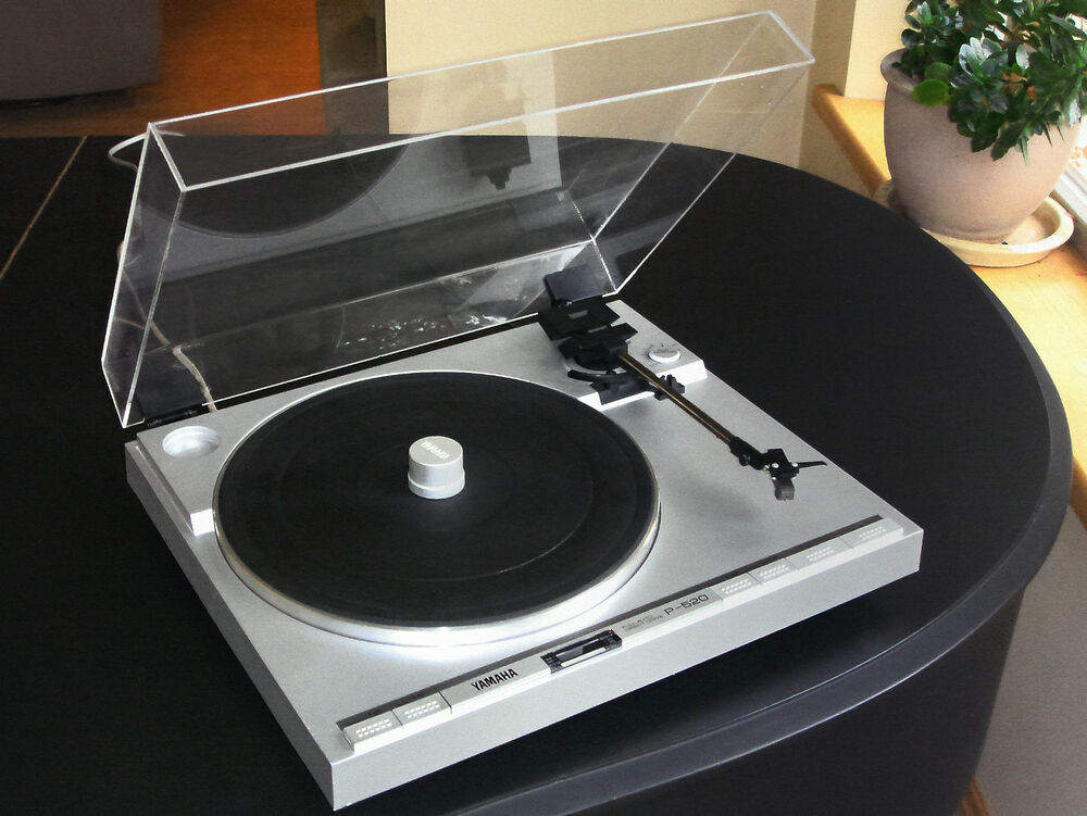 New Dust Cover For Any Direct Drive Turntable Custom Made