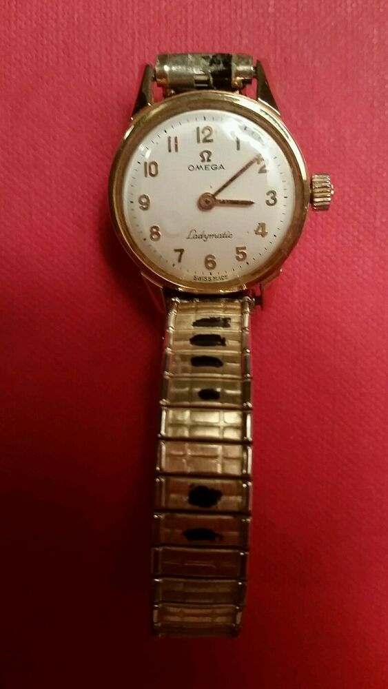 vintage omega ladymatic gold tone watch ebay