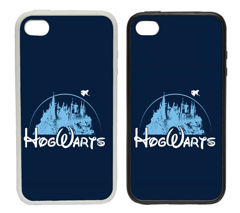 Hogwarts Disney Inspired Castle Logo - Rubber and Plastic Phone Cover ...