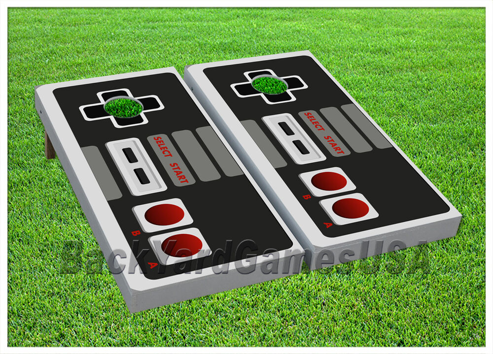 Cornhole Beanbag Toss Game W Bags Game Boards Nintendo Set