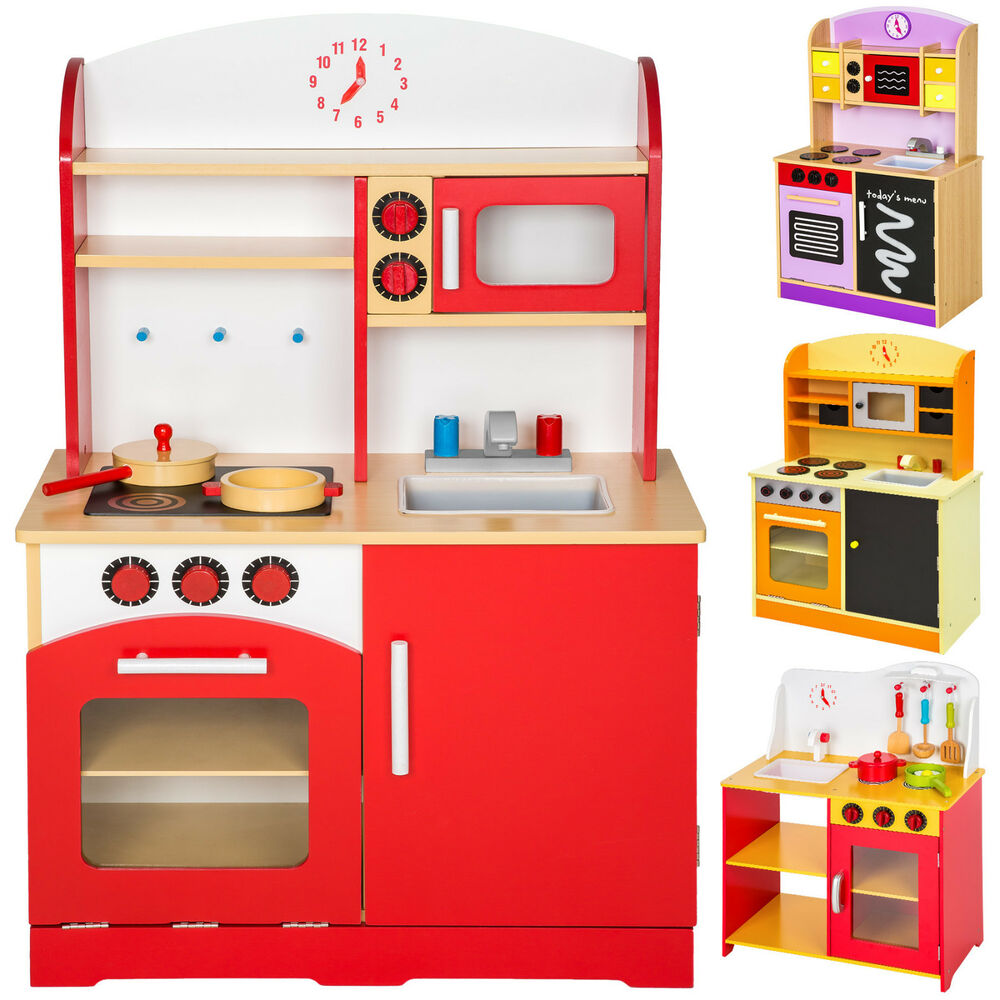 cuisine enfant cuisine en bois enfants jeu du r le imitation top chef set kit ebay. Black Bedroom Furniture Sets. Home Design Ideas