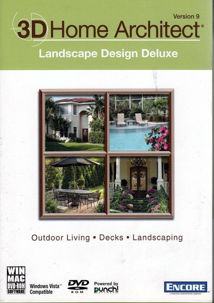 3d home architect landscape design deluxe v9 outdoor