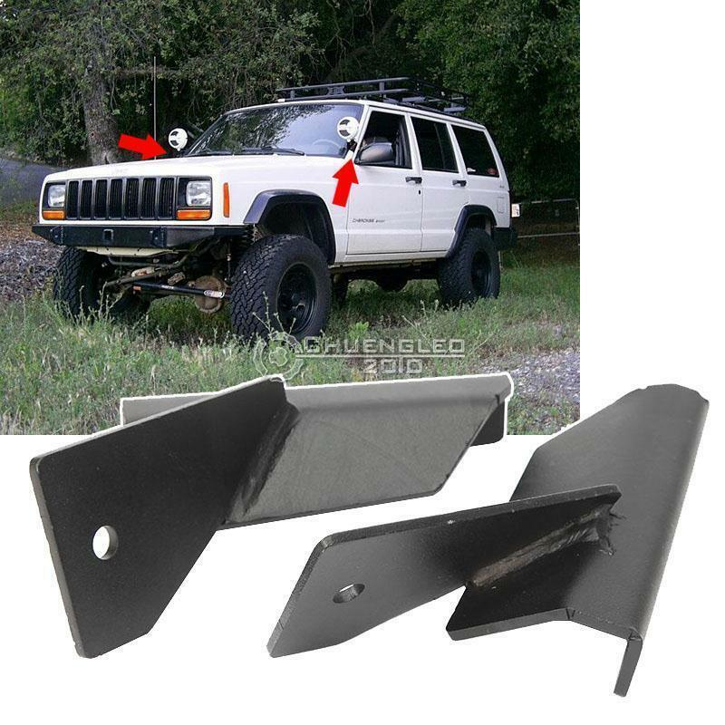For Jeep Cherokee Xj 84 01 Mj 86 92 Lower Windshield A Pillar Led