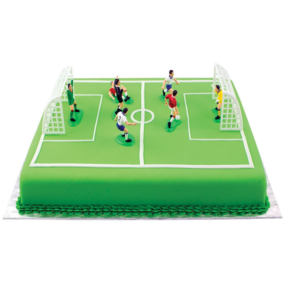 Cake Decorations Football Nets : PME Soccer Football Cake Topper Decorations Birthday Cake ...