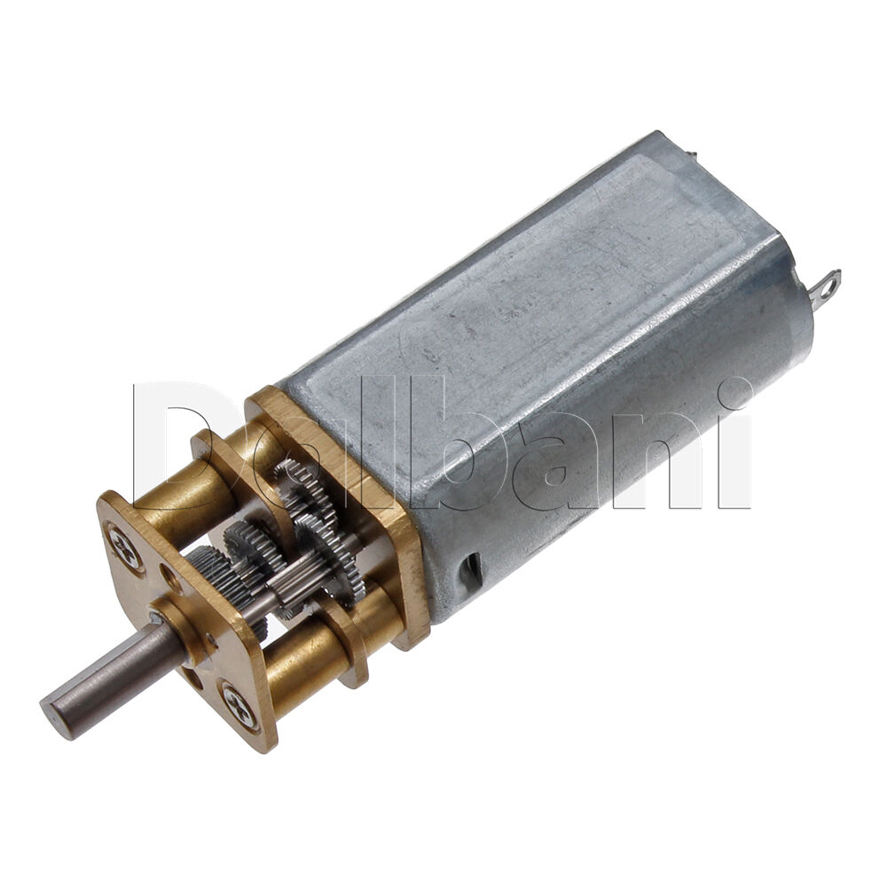 12v dc 45 rpm high torque open gearbox electric motor ebay for Gearbox for electric motor