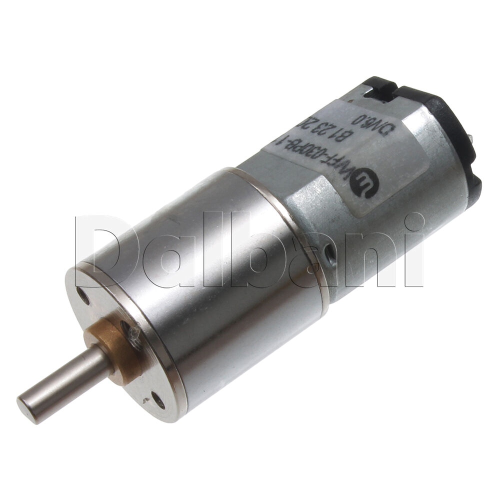6v Dc 50 Rpm High Torque Sealed Gearbox Electric Motor