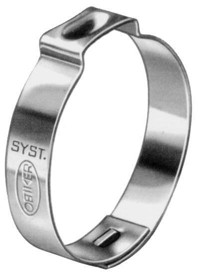 Oetiker stainless hose clamp r irrigation