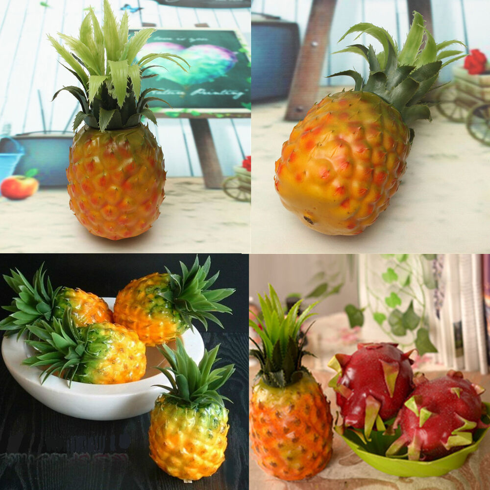 Artificial Pineapple Fruit Home Hotel Table Decor