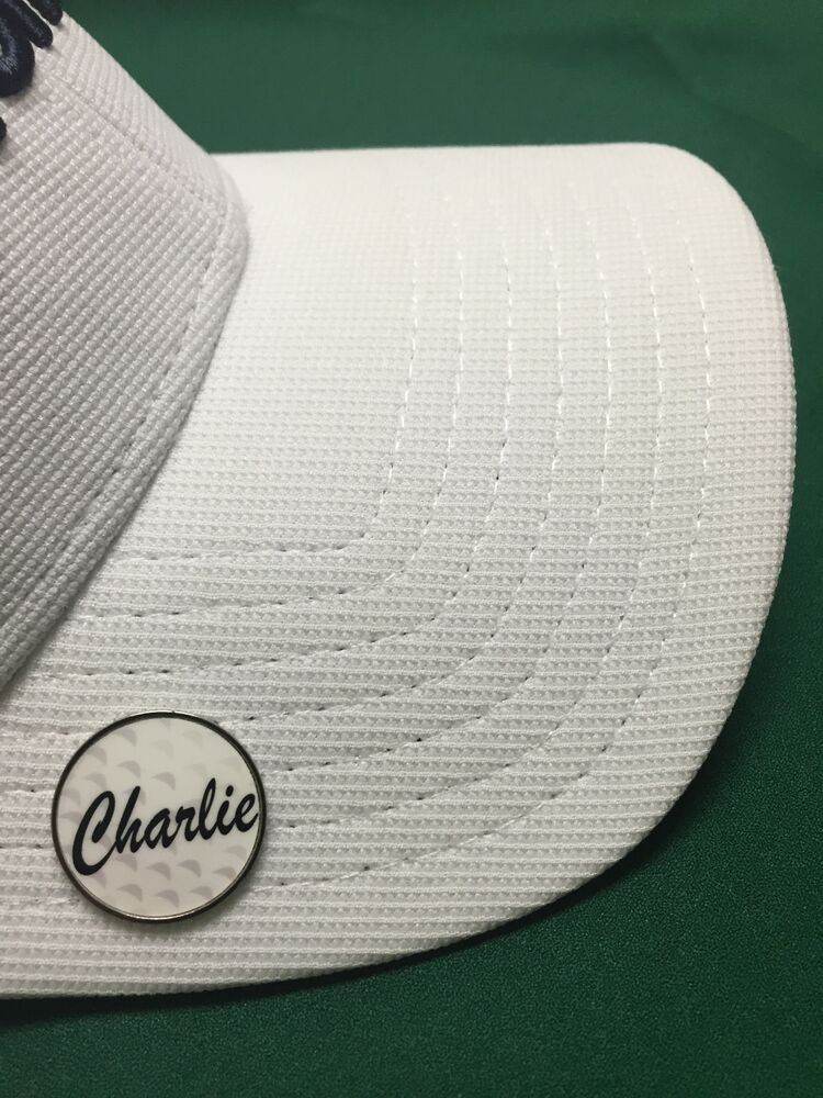 New Hat Clip Free Removable Cap Brim Magnet W Two