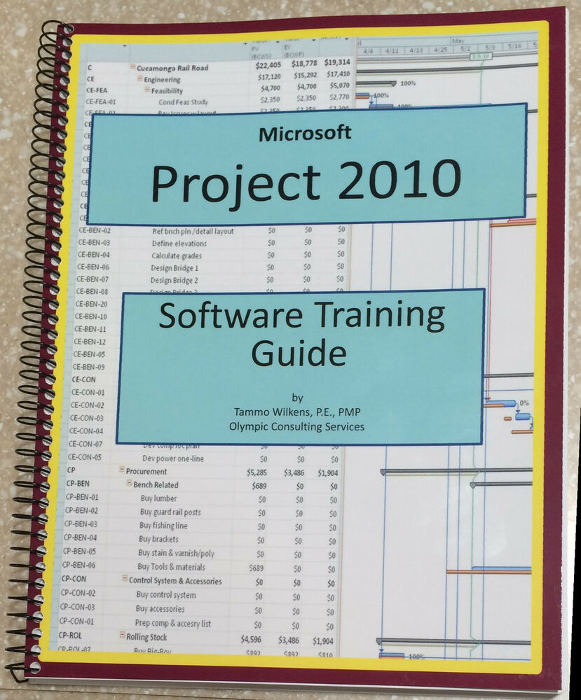 ms project training manual pdf