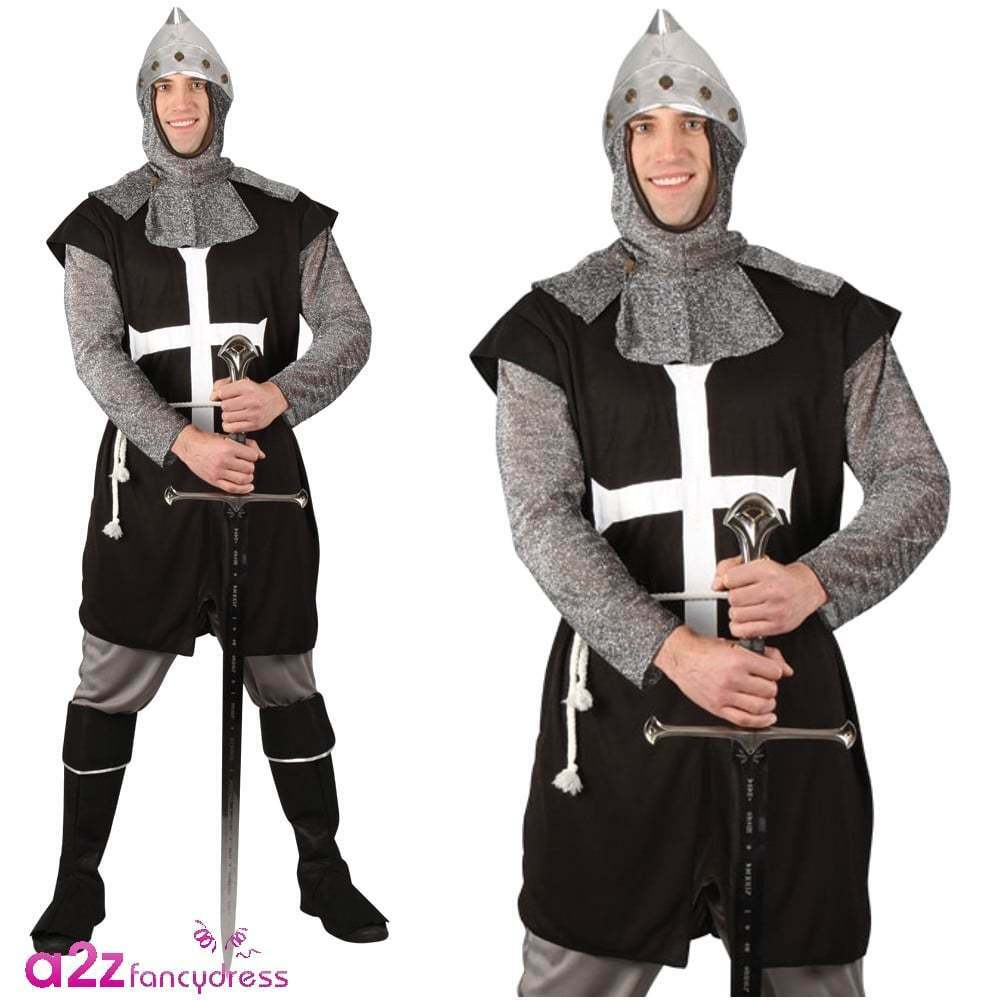 Crusader adult costume can