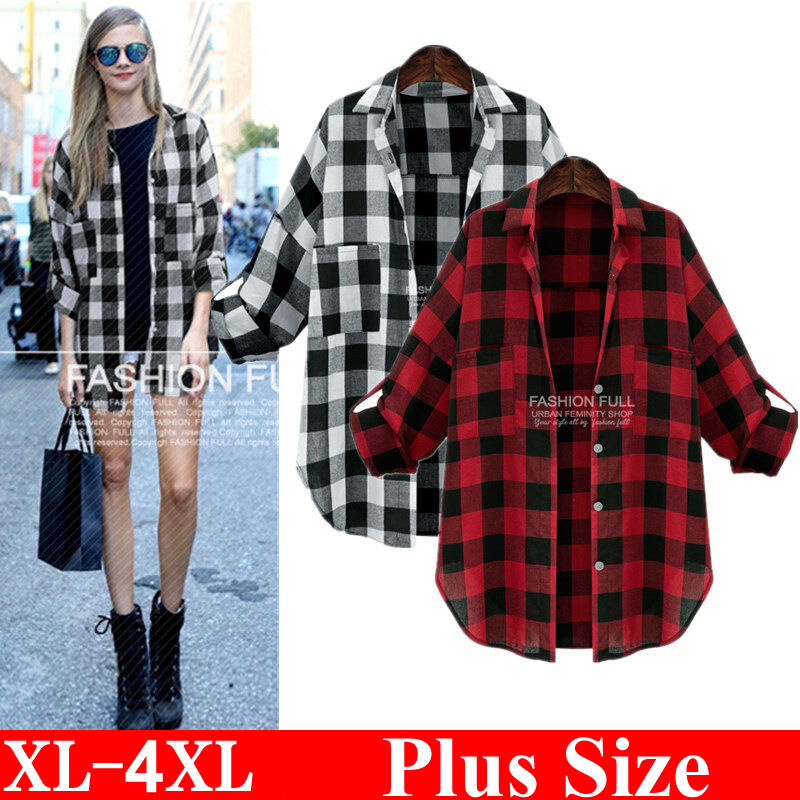 Zelda Front Pocket Plaid Blouse 26