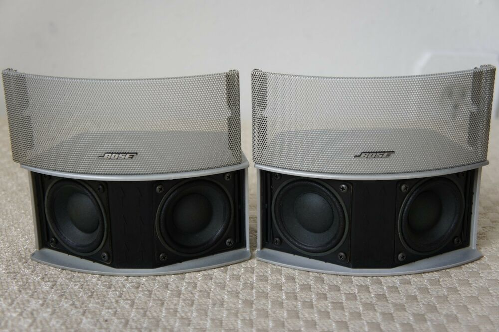 two bose gemstone speakers for 321 cinemate systems ebay