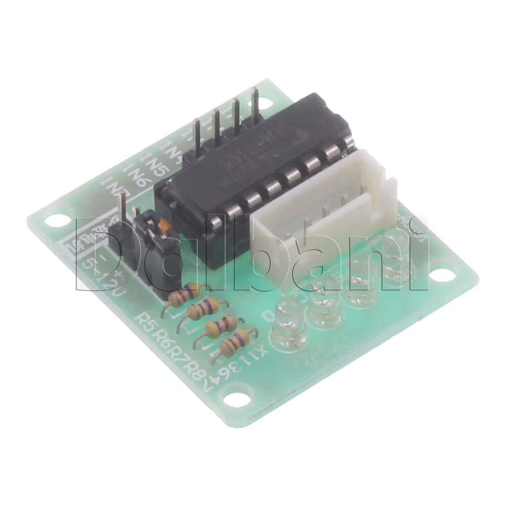 28byj 48 Uln2003 Driver Test Module Board With Dc 5v