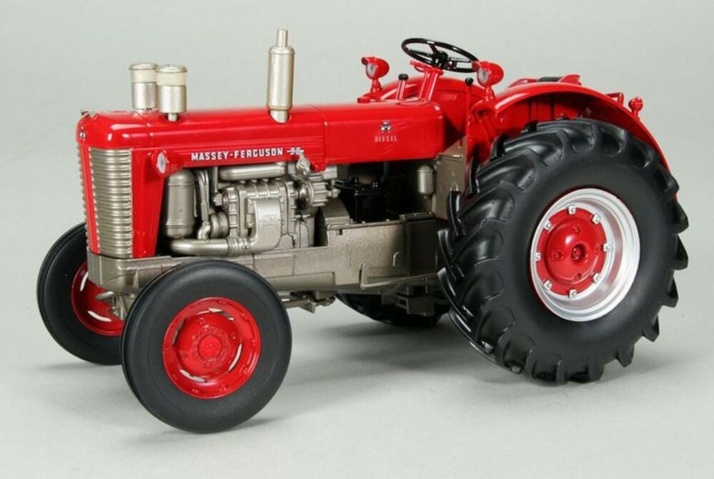 Tractor With Headlights : Massey ferguson highly detailed w gm diesel