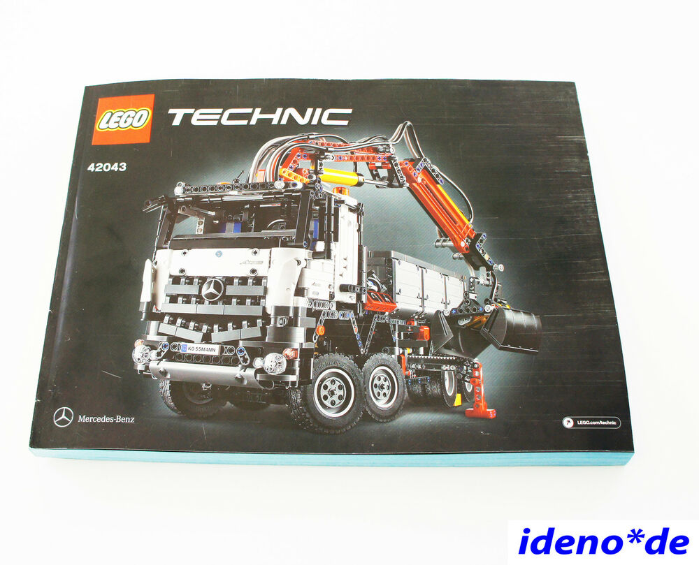 lego technic technik bauanleitung mercedes arocs 42043 neu. Black Bedroom Furniture Sets. Home Design Ideas