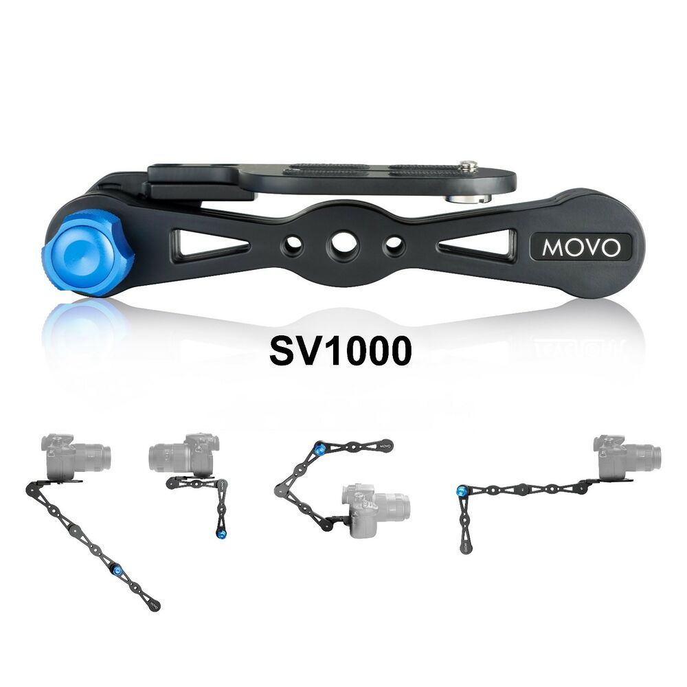 movo shoulder rig selfie stick stabilizer video grip combo for cameras up to 9lb ebay. Black Bedroom Furniture Sets. Home Design Ideas
