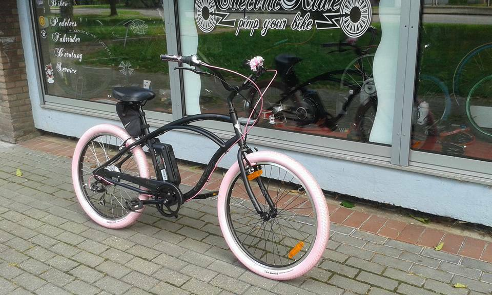e bike pedelec cruiser fahrrad beachcruiser electra ebay. Black Bedroom Furniture Sets. Home Design Ideas