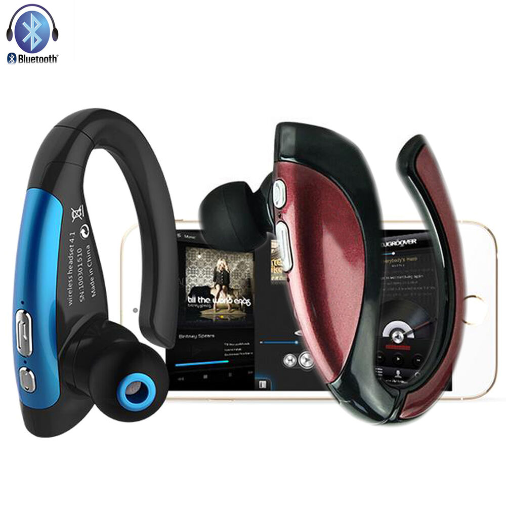 stereo a2dp bluetooth headset for samsung galaxy s6 edge plus s5 note 5 moto g e ebay. Black Bedroom Furniture Sets. Home Design Ideas