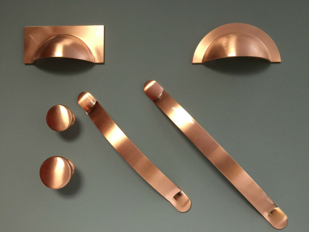 kitchen cabinet door handle brushed copper handles cups knobs pulls bows for kitchen 18535