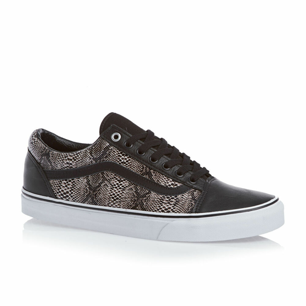 vans old skool snake black khaki mens size sz 7 new nib. Black Bedroom Furniture Sets. Home Design Ideas