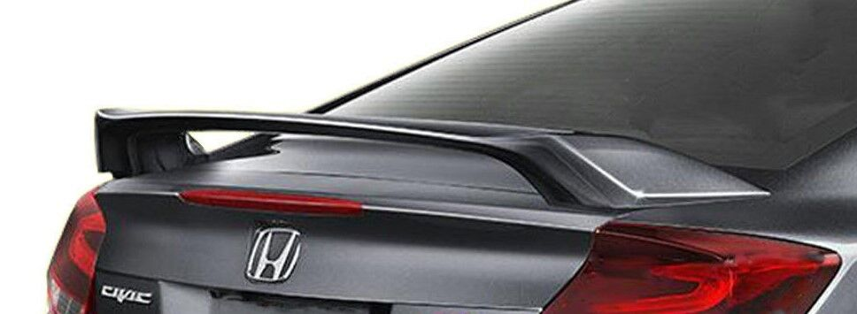 2012 2015 painted rear trunk spoiler fits a honda civic si 2 door coupe ebay. Black Bedroom Furniture Sets. Home Design Ideas