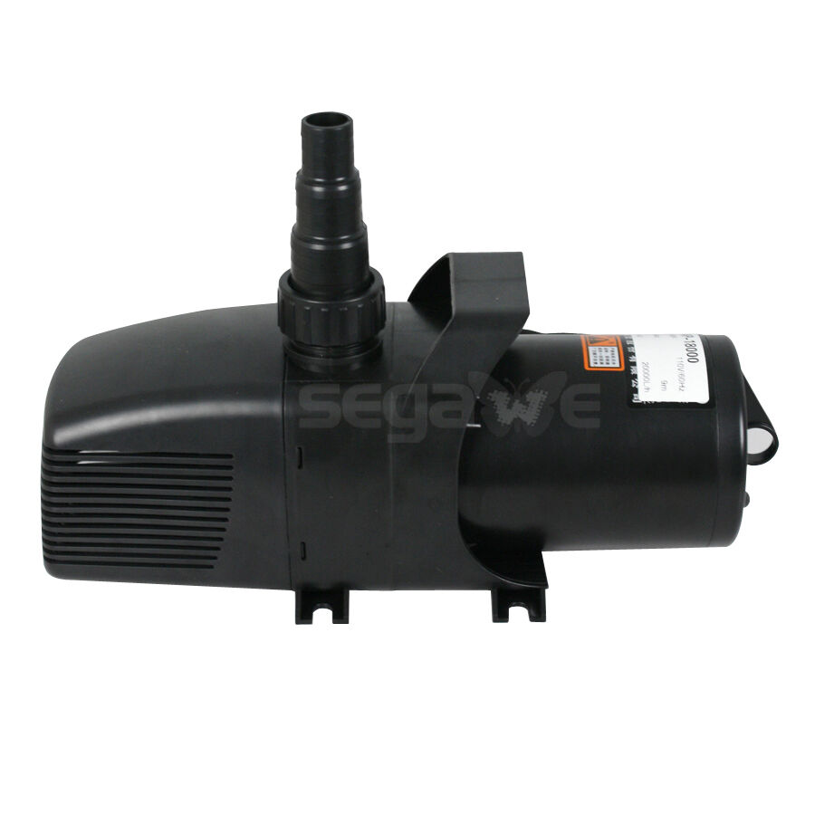 Water pump fountain pump waterfall pump 5283 gph for Pool pump for koi pond