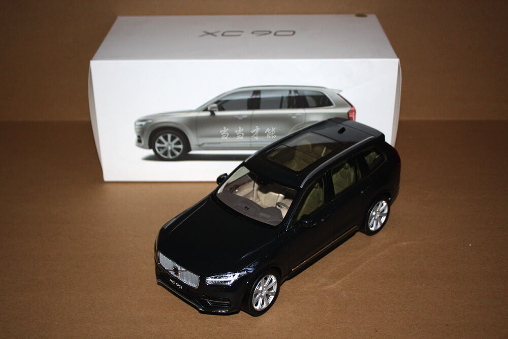 1 18 Volvo Xc90 Black Color Model Gift Ebay