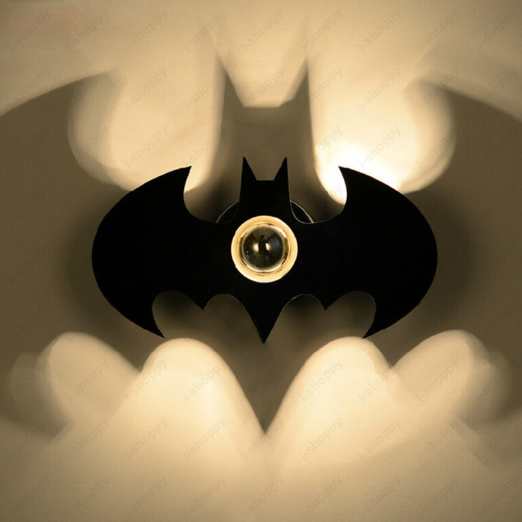 light sconces for bedroom 5w led batman wall sconce light fixture indoor lamp 15860