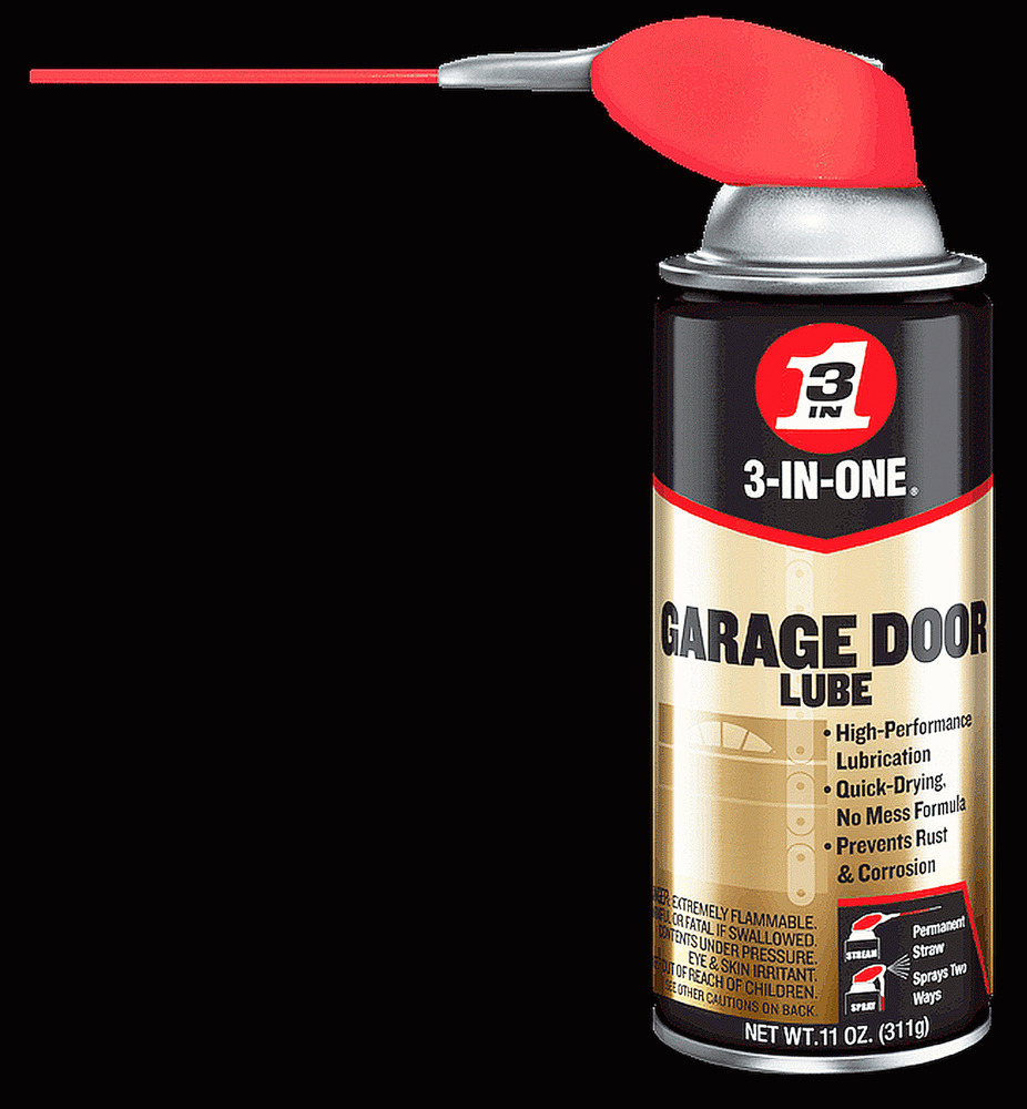 3 In One Garage Door Track Amp Cable Spray Lube Oil Aerosol