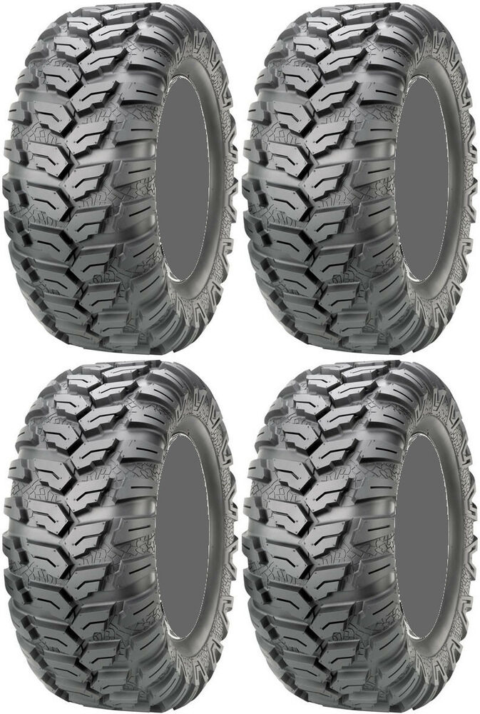 four 4 maxxis ceros atv tires set 2 front 26x9 12 2 rear. Black Bedroom Furniture Sets. Home Design Ideas