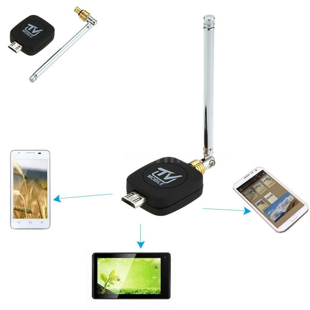 micro usb dvb t dongle receiver hd digital tv tuner stick for android phone r4uo ebay. Black Bedroom Furniture Sets. Home Design Ideas