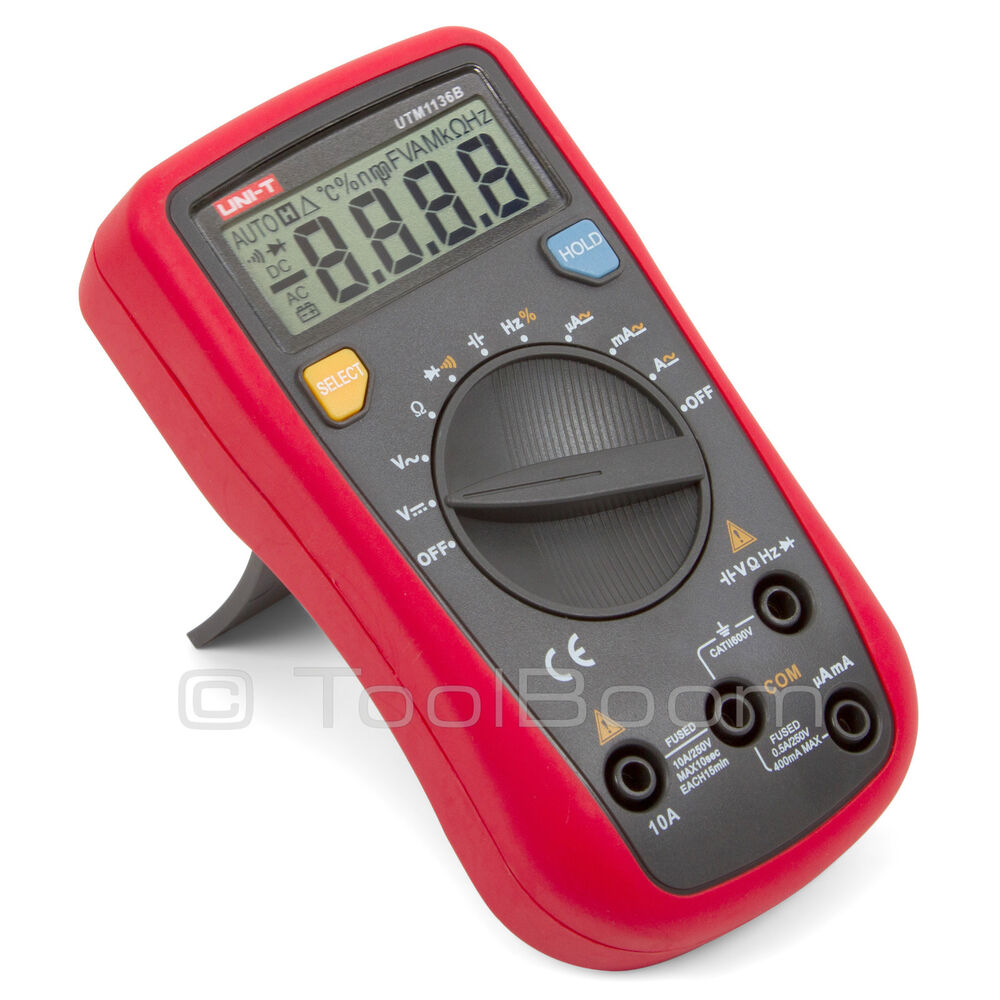 how to read a multimeter for volts