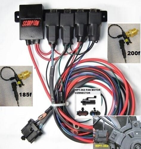 Ford Taurus Cooling Fan Wiring Diagram Wiring Harness Wiring