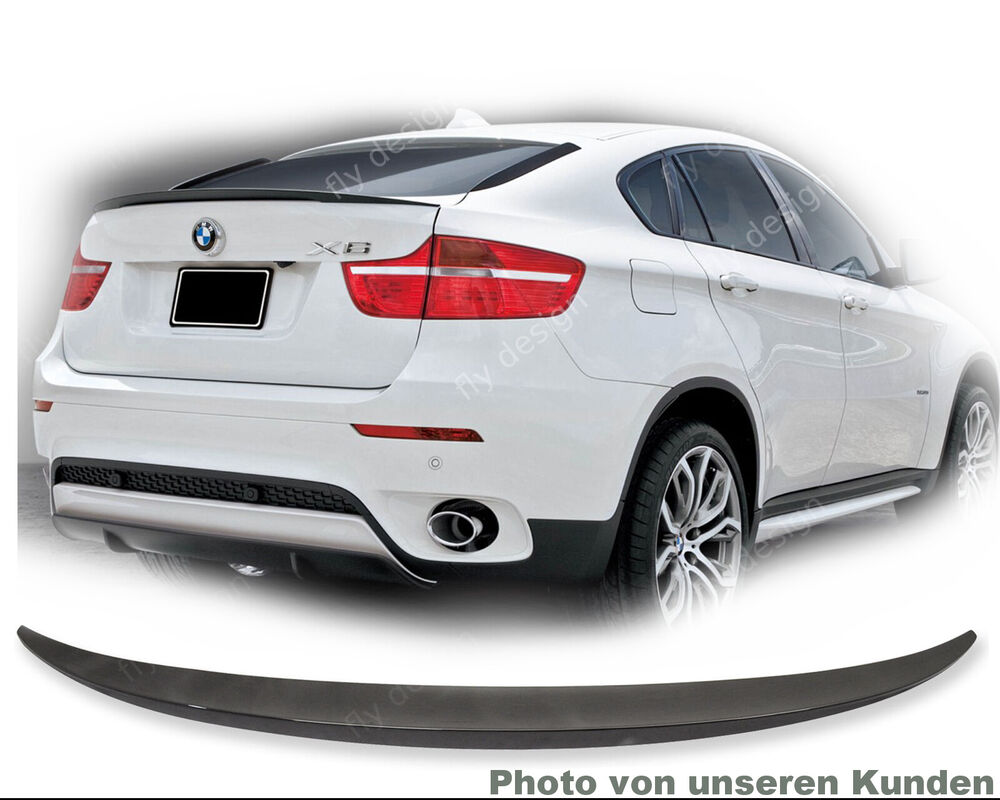 bmw x6 spoiler heckspoiler neu fl gel typ performance. Black Bedroom Furniture Sets. Home Design Ideas