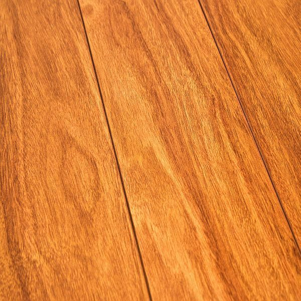 Armstrong grand illusions afzelia 12mm high gloss laminate for Laminate flooring examples