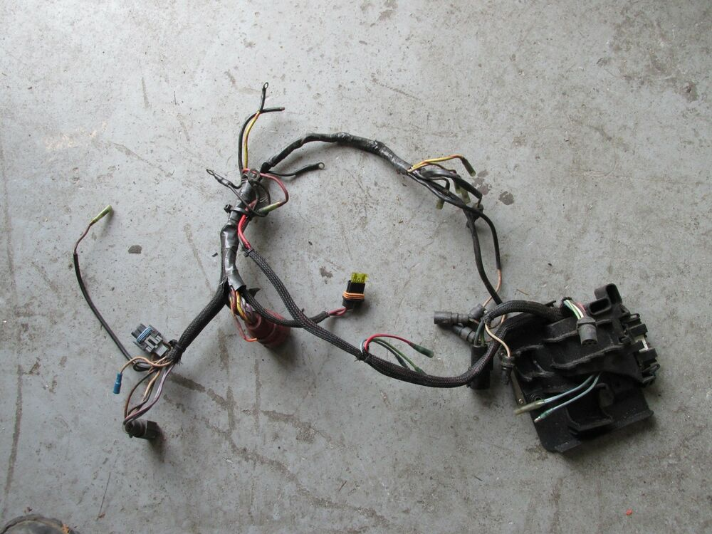1996 Johnson Outboard Ocean Runner 200hp Wiring Harness
