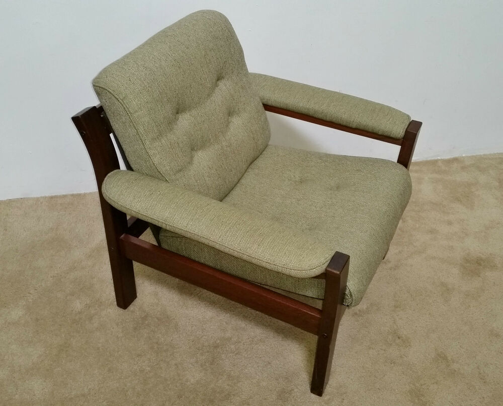 Mcm Danish Modern Rosewood Lounge Chair Ask For A