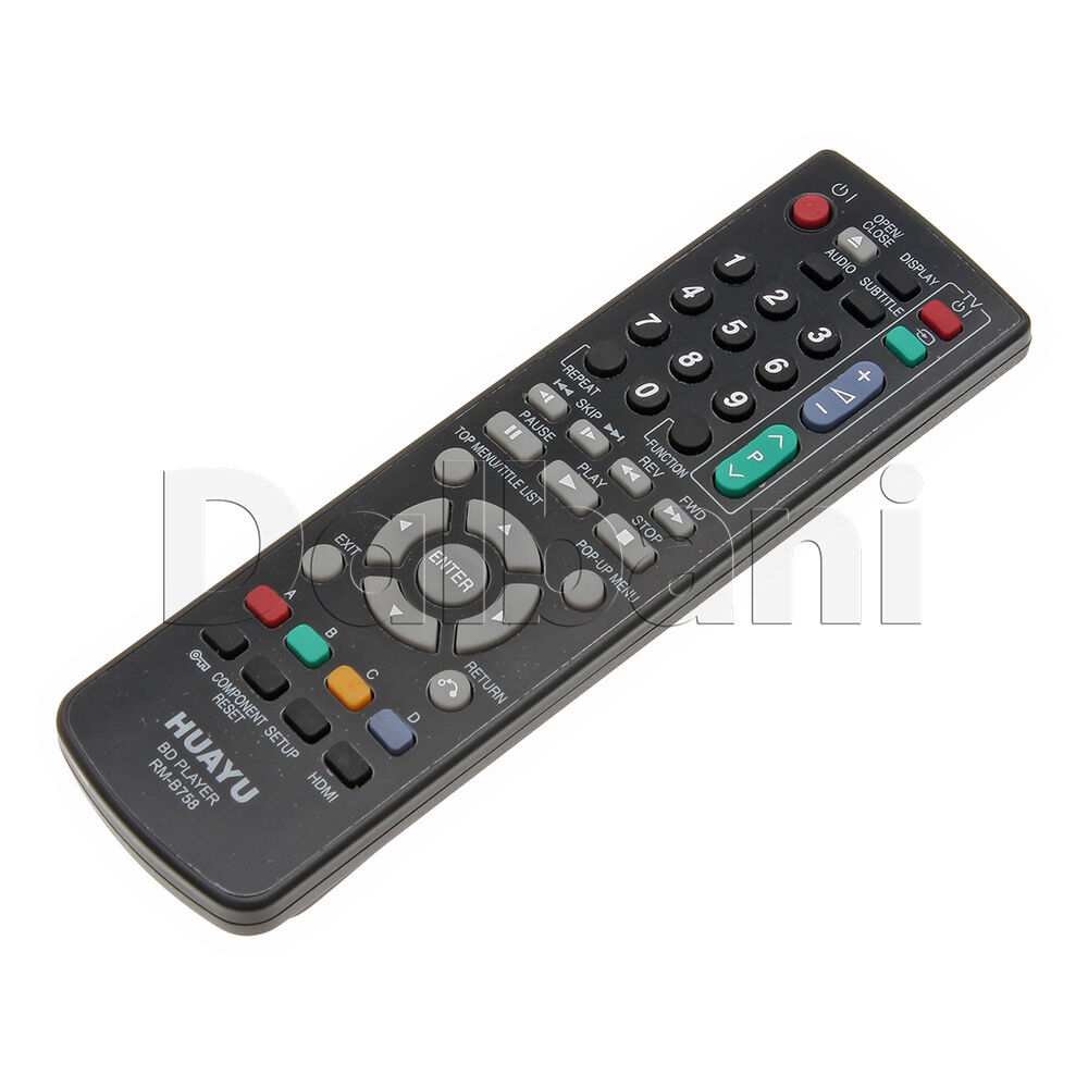 rm b758 universal tv remote control huayu lcd tv sharp ebay. Black Bedroom Furniture Sets. Home Design Ideas