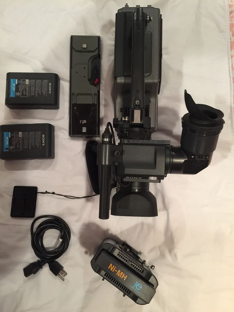 sony dsr 250 12x 3ccd digital video camera recorder professional w extra 27242579514 ebay. Black Bedroom Furniture Sets. Home Design Ideas