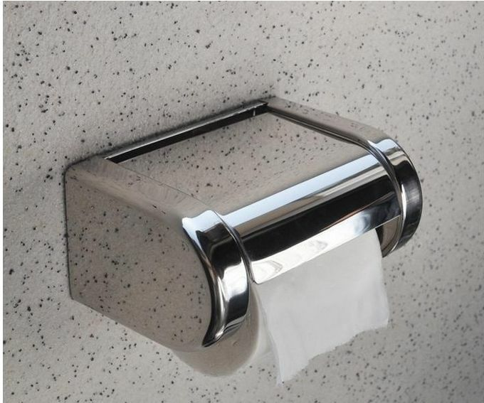 Modern Wall Mounted Bathroom Stainless Steel Toilet Paper