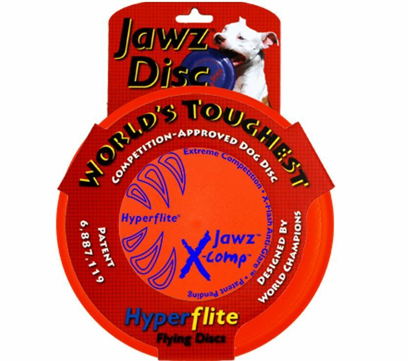 Hyperflite Jawz X Comp Dog Disc Puncture Resistant Us Made