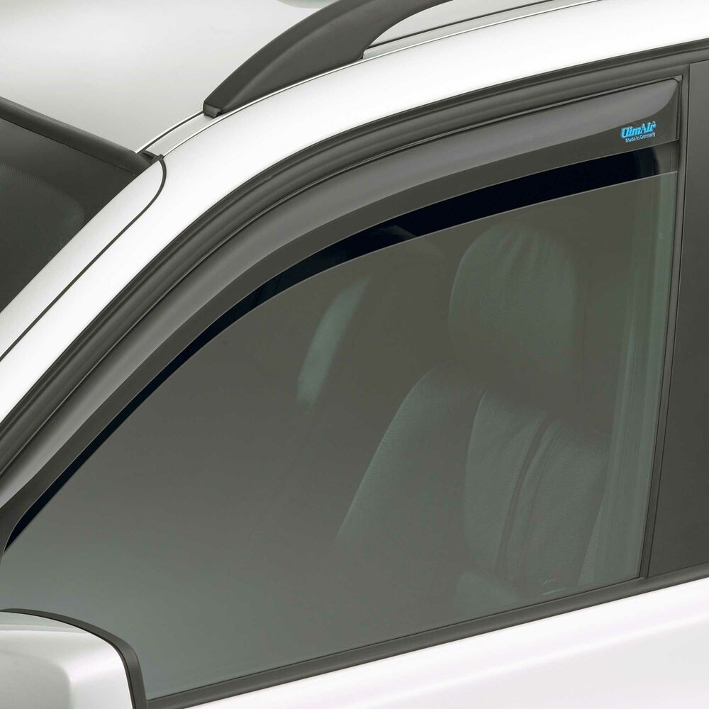 climair tinted front clip on car window wind deflector. Black Bedroom Furniture Sets. Home Design Ideas
