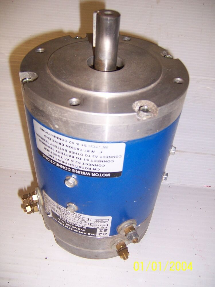 D And D Dc Electric Motor 36 48 Ev Electric Vehicle