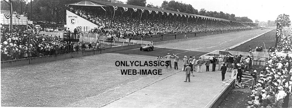 1953 indy 500 winner bill vukovich auto racing photo for Indianapolis motor speedway clothing
