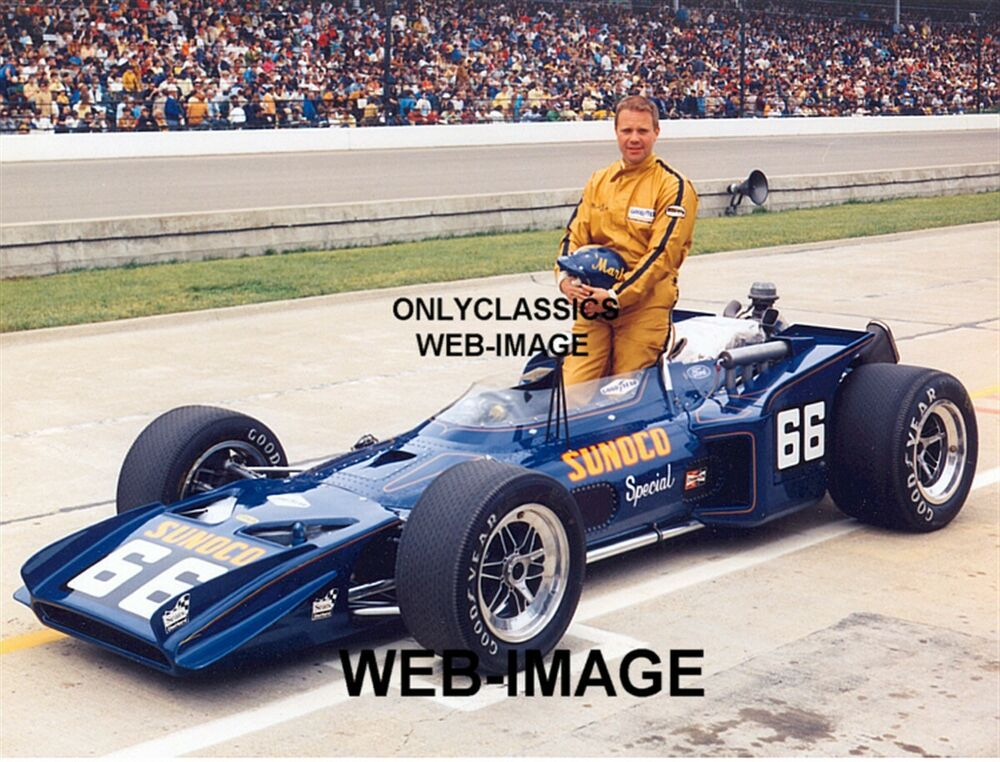 1970 mark donohue indy 500 sunoco gas special auto racing for Speedway motors used cars